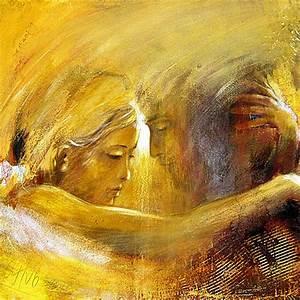 Gemalte Bilder Auf Leinwand : engelbilder spirituelle malerei handsigniert kreavitalis bopp ~ Frokenaadalensverden.com Haus und Dekorationen