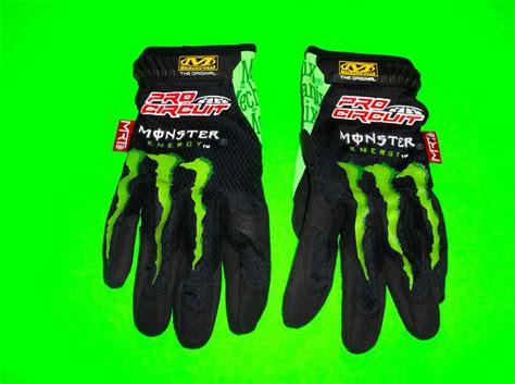 monster energy motocross gloves mechanix wear pro circuit monster energy motocross atv