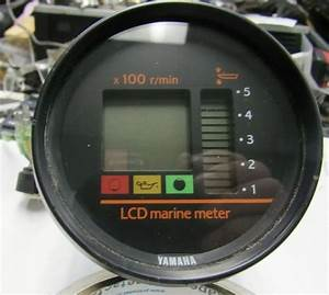 Yamaha Lcd Marine Meter Wiring And Part Numbers