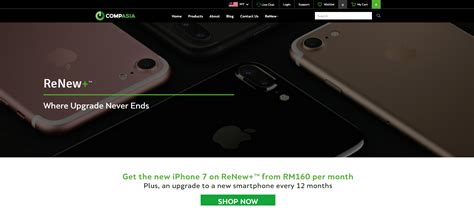 get your iphone 7 and upgrade to iphone 8 with compasia renew