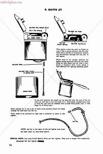 Table Lighters Collectors U0026 39  Guide  Lighter Repair Manual
