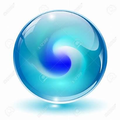 Glass Ball Clipart 3d Sphere Crystal Shape