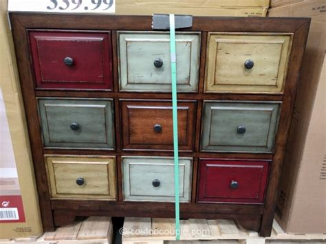 bayside cabinets bayside furnishings 9 drawer accent cabinet