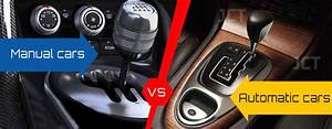 Manual Or Automatic Transmission Vehicles  U2013 Which One Is