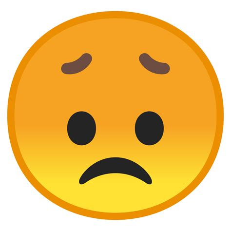 disappointed face icon noto emoji smileys iconset google