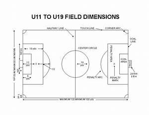 U12 Soccer Field Size