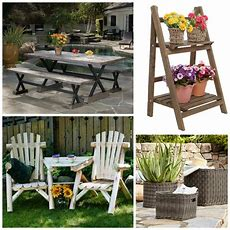 Rustic Outdoor Furniture Farmhouse Style Options The