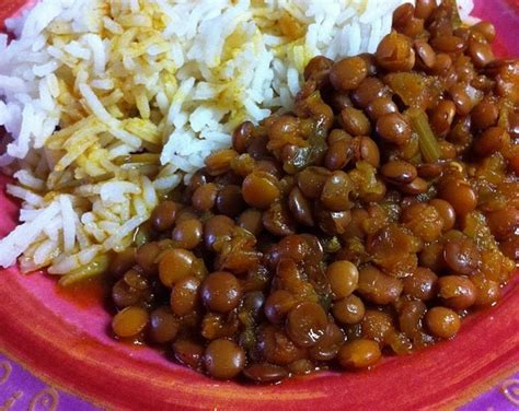 lentille cuisine recette recette des lentilles à la marocaine and co