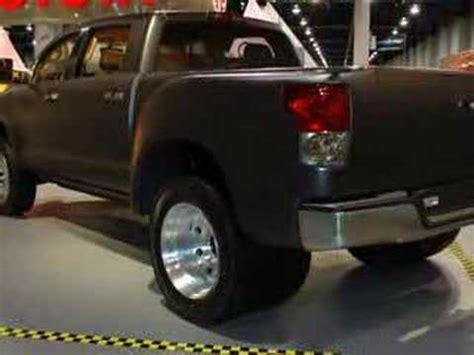 sema  toyota tundra dually diesel autoblog youtube