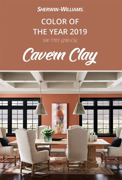 Interior Paint Colors Sherwin Williams by Modern D 233 Cor Pairs Perfectly With Cavern Clay Sw 7701 The