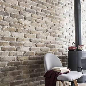 Mur En Pierre Interieur Leroy Merlin : mur en brique de parement interieur ~ Dailycaller-alerts.com Idées de Décoration