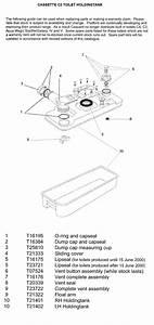 Thetford C260 Cassette Toilet Parts Australia