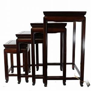 chinese rosewood nesting tables With rosewood furniture home design