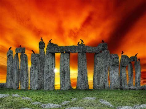stonehenge prehistoric monument wallpaper  hd