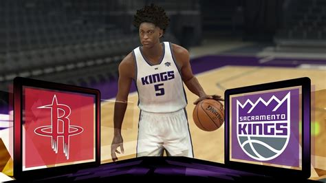 NBA Live 18 Sacramento Kings Franchise- Season Opener vs ...