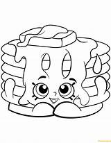 Pancake Shopkin Coloring Pages Shopkins Pamela Season Printable Print Corn Dolls Waffle Ice Cream Colouring Sheets Drawing Paper Jam Poppy sketch template