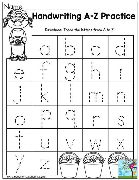handwriting practice perfect  beginning writers