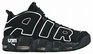 nike air more uptempo black white 2016 sneaker bar detroit With nike air max big letters