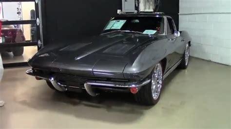 corvette ls speed split window coupe restomod