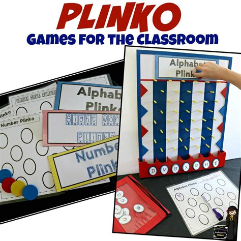 preschool classroom games classroom plinko for students to use and play 458