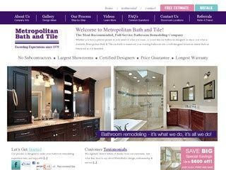metropolitan bath and tile 1 5 by 3 consumers
