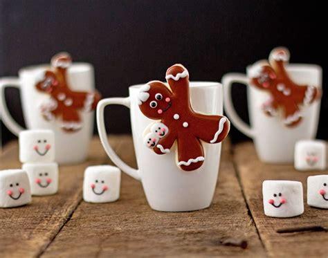 Gingerbread Men Coffee Cup Cookies   The Bearfoot Baker