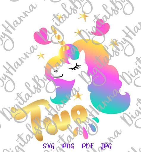 birthday svg  unicorn face head  year