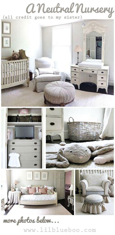 neutral nursery decor ideas restoration hardware inspired