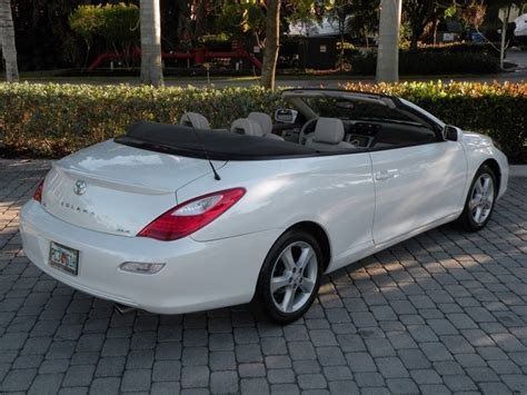 2008 Toyota Solara Convertible by 2008 Toyota Camry Solara Sle V6 Convertible Fort Myers