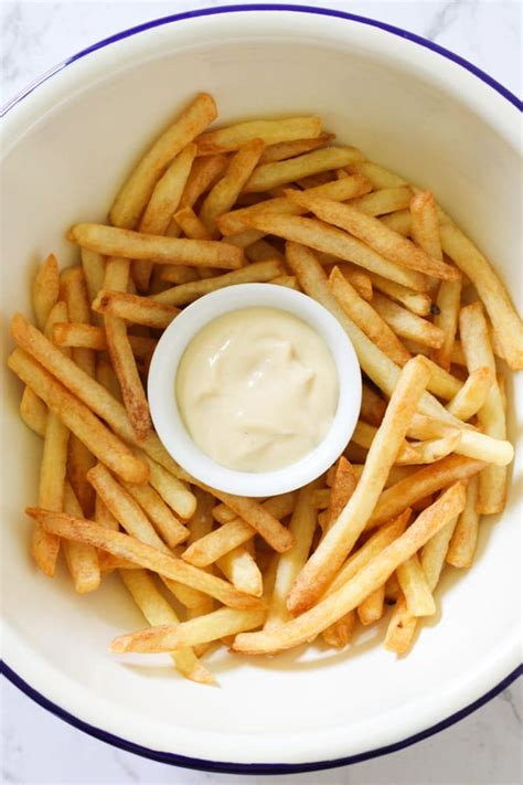 fries french air fryer frozen cook preheat