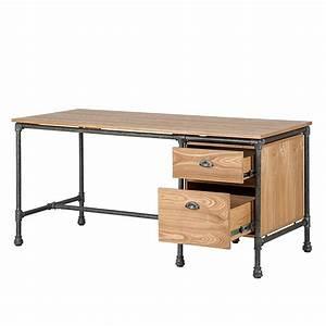 Schreibtisch Massivholz Eiche : schreibtisch holz modern ~ Whattoseeinmadrid.com Haus und Dekorationen