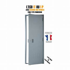 porte de cave securystar eco 1 face livree posee With bloc porte serrure 3 points