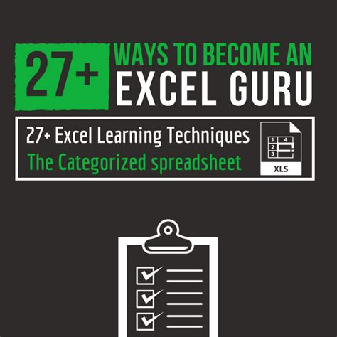27+ Ways To Teach Yourself How To Become The Excel Guru