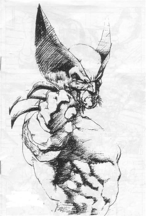 Wolverine  Pencil Sketch  Xmen & Other Merry Mutants