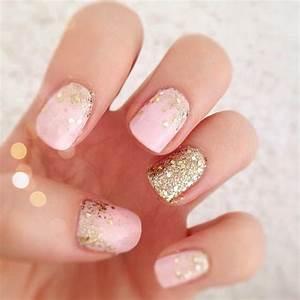 Pink Wedding Nails on Pinterest