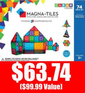 target 63 74 valtech magna tiles 74 pc set 100 value