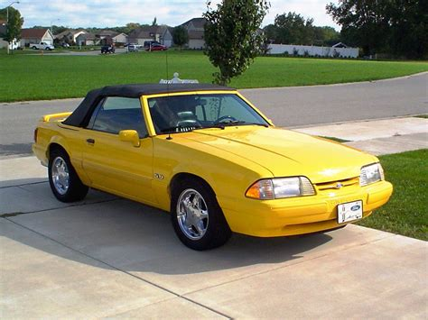 1993 ford mustang coupe 1993 ford mustang overview cargurus