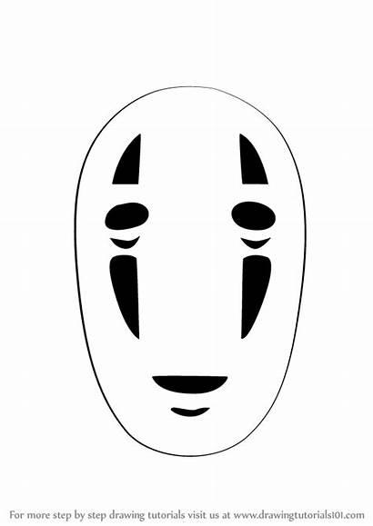 Spirited Face Away Step Draw Drawing Chihiro