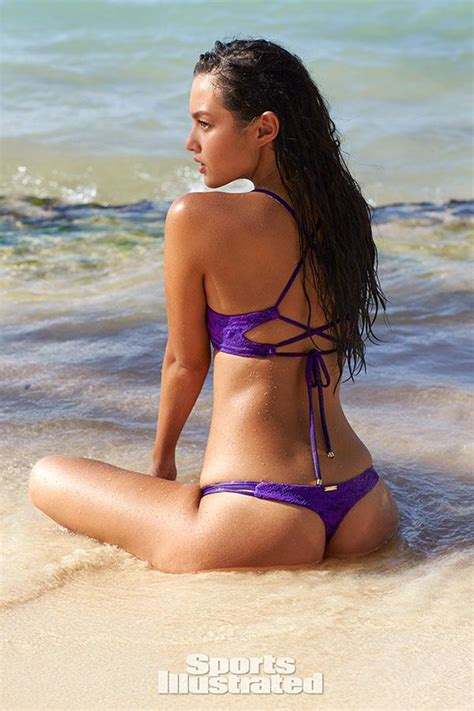 video mia kang sports illustrated  swimsuit rookie
