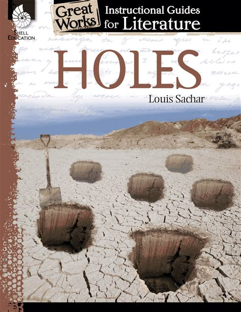 holes  instructional guide  literature teachers