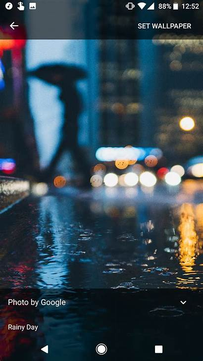 Pixel Google Wallpapers 4k Android Pc Rainy