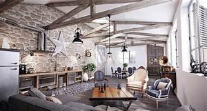 Brick And Stone Wall Ideas (38 House Interiors)