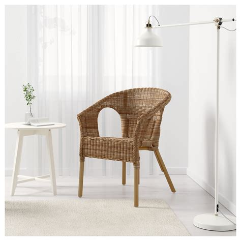 chaise en rotin but agen chair rattan bamboo ikea