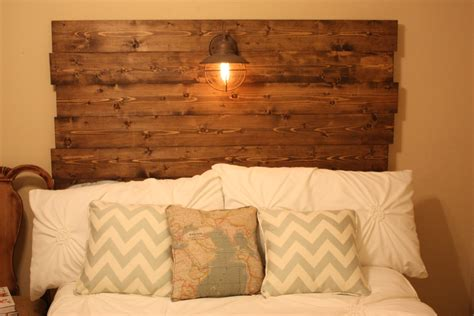 Lovely Diy Headboard Wood 17 Photographs Home Living Now