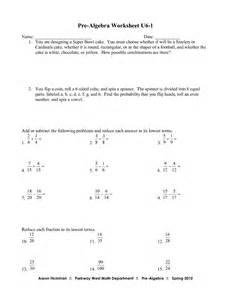 Algebra Beginner Worksheets Printables Pre Algebra Worksheets 7th Grade Safarmediapps Worksheets Printables
