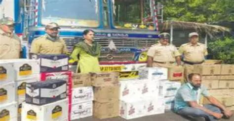 Cops seize liquor worth Rs 9 lakh from fish truck at Goa ...