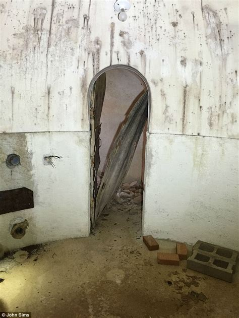 Backyard Bomb Shelters by Arizona Finds Cold War Fallout Shelter Underneath His