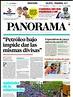 Primera página de este lunes del diario panorama que ...