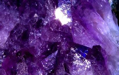 Crystal Wallpapers Purple Amethyst Aesthetic Iphone Panda