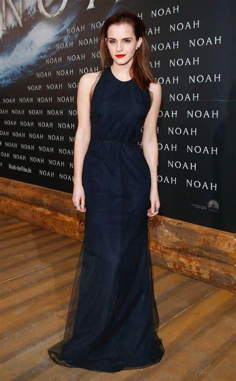 Emma Watson Glows Chiffon Gown Noah Berlin